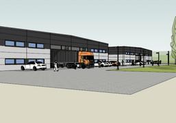 Morizon WP ogłoszenia | Nowa inwestycja - Święcice Magazyny - wynajem, Święcice, 880 m² | 8640