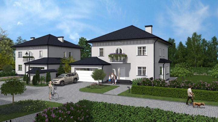 Morizon WP ogłoszenia | Nowa inwestycja - Villa Moderna, Pęcice Małe ul. Parkowa 52, 166-215 m² | 8668