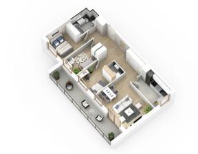 Mieszkanie w inwestycji Malta Point, Poznań, 48 m²