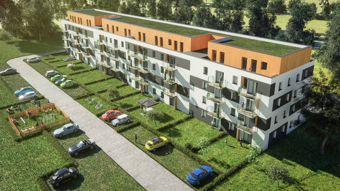 Morizon WP ogłoszenia | Mieszkanie w inwestycji Wierzbowy Zakątek, Łomianki, 53 m² | 0740