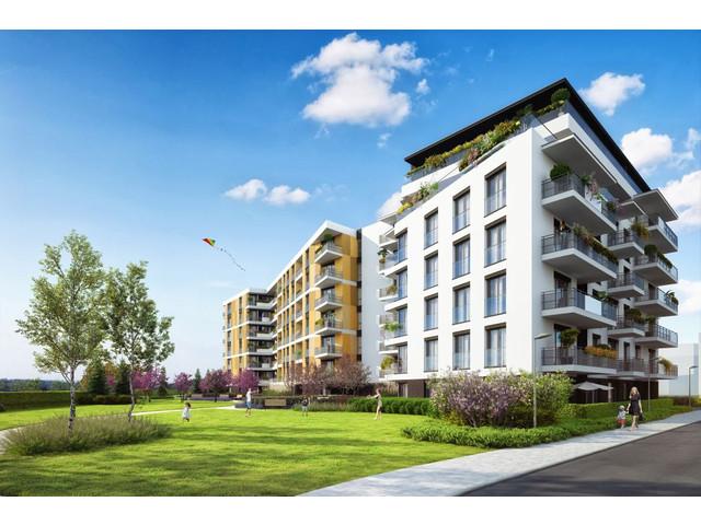 Morizon WP ogłoszenia | Mieszkanie w inwestycji Lokum Siesta II etap, Kraków, 86 m² | 8499