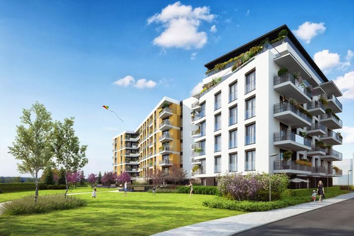 Morizon WP ogłoszenia | Nowa inwestycja - Lokum Siesta II etap, Kraków Dębniki, 30-93 m² | 8737