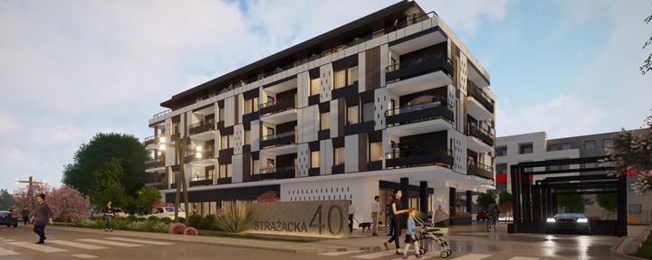 Morizon WP ogłoszenia | Nowa inwestycja - Strażacka 40, Rzeszów Drabinianka, 34-116 m² | 8745