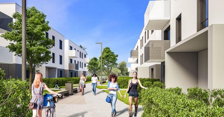 Morizon WP ogłoszenia   Nowa inwestycja - Zielone Miasto, Wrocław Muchobór Wielki, 31-78 m²   8799