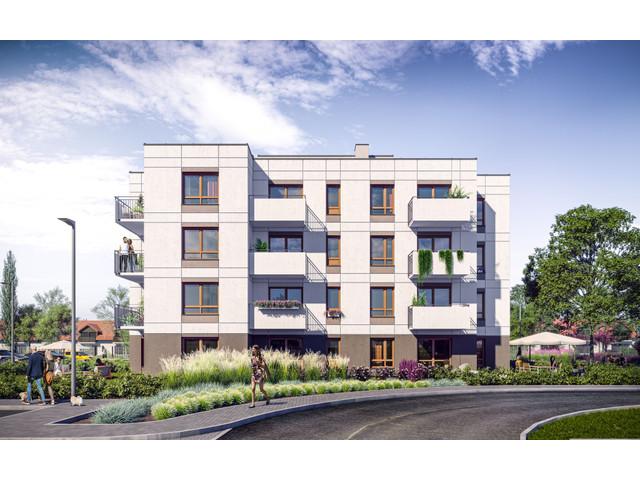 Morizon WP ogłoszenia | Mieszkanie w inwestycji Zielone Zamienie 4, Zamienie, 53 m² | 9913