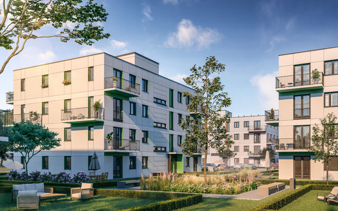 Morizon WP ogłoszenia | Mieszkanie w inwestycji Zielone Zamienie 4, Zamienie, 35 m² | 9960