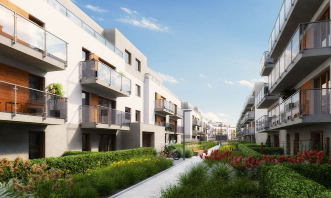 Morizon WP ogłoszenia | Mieszkanie w inwestycji OSIEDLE PRZEDWIOŚNIE, Warszawa, 54 m² | 9595