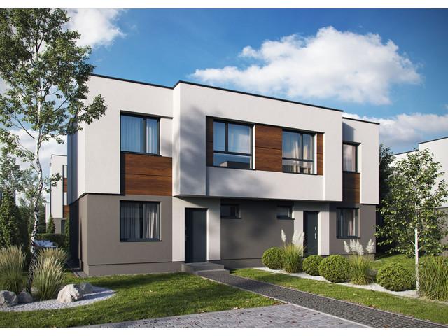 Morizon WP ogłoszenia | Dom w inwestycji Kabacka Przystań Gardens, Józefosław, 93 m² | 0401