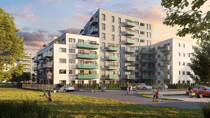 Morizon WP ogłoszenia | Nowa inwestycja - Murapol Osiedle Parkowe, Gliwice Brzezinka, 24-58 m² | 8079