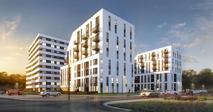 Morizon WP ogłoszenia | Nowa inwestycja - Piasta Park III, Kraków Mistrzejowice, 36-73 m² | 8156