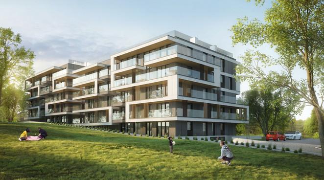 Morizon WP ogłoszenia | Mieszkanie w inwestycji Bonarka - ulica Strumienna II etap, Kraków, 47 m² | 5055