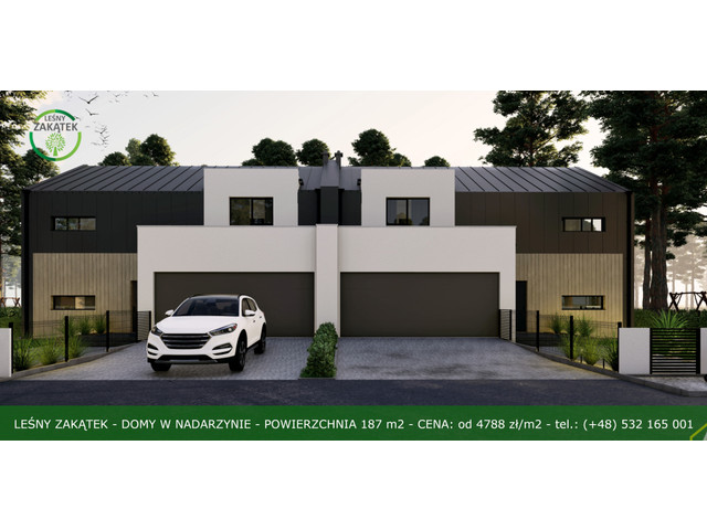 Morizon WP ogłoszenia   Dom w inwestycji Osiedle Leśny Zakątek, Nadarzyn, 176 m²   5477