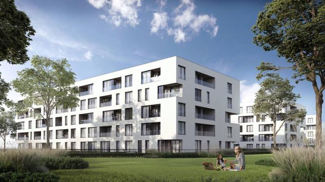 Morizon WP ogłoszenia | Mieszkanie w inwestycji Myśliwska Solar Garden, Kraków, 63 m² | 8465