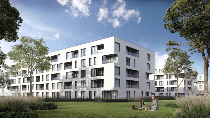 Morizon WP ogłoszenia | Nowa inwestycja - Myśliwska Solar Garden, Kraków Płaszów, 25-113 m² | 9483