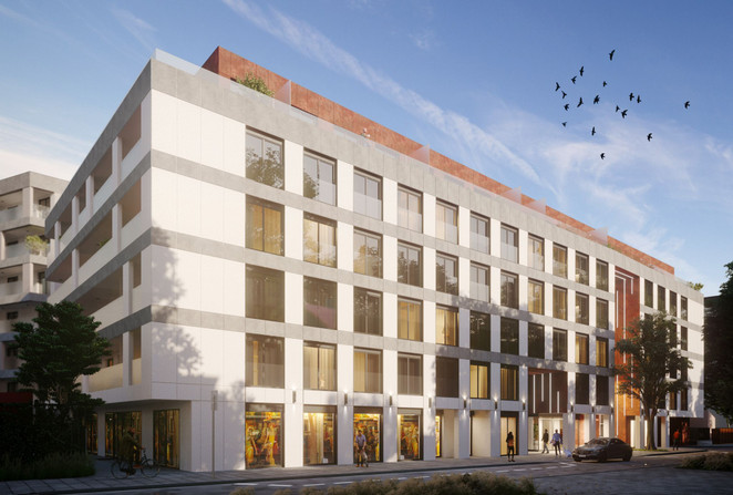 Morizon WP ogłoszenia | Mieszkanie w inwestycji CIESZYŃSKA 9, Kraków, 34 m² | 9438