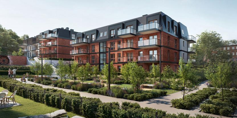Mieszkanie w inwestycji Młyny Gdańskie, Gdańsk, 31 m² | Morizon.pl | 3053