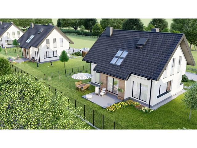 Morizon WP ogłoszenia | Dom w inwestycji Domy na Polanie, Wołowice, 130 m² | 1493