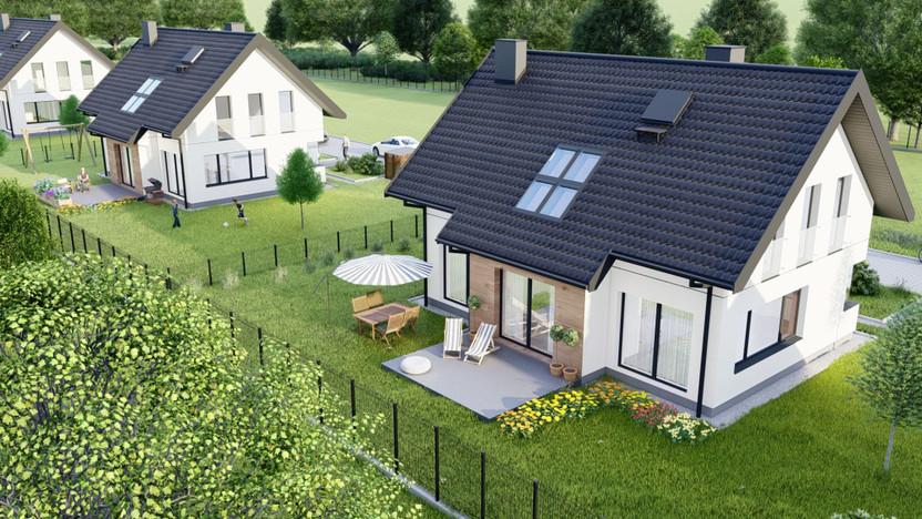 Dom w inwestycji Domy na Polanie, Wołowice, 130 m² | Morizon.pl | 5432