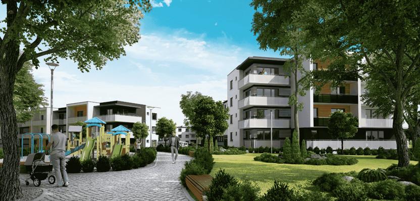 Mieszkanie w inwestycji Literacka Skwer, Poznań, 70 m² | Morizon.pl | 2343