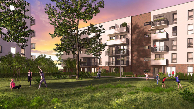 Morizon WP ogłoszenia | Mieszkanie w inwestycji Murapol Osiedle Akademickie, Bydgoszcz, 55 m² | 8377