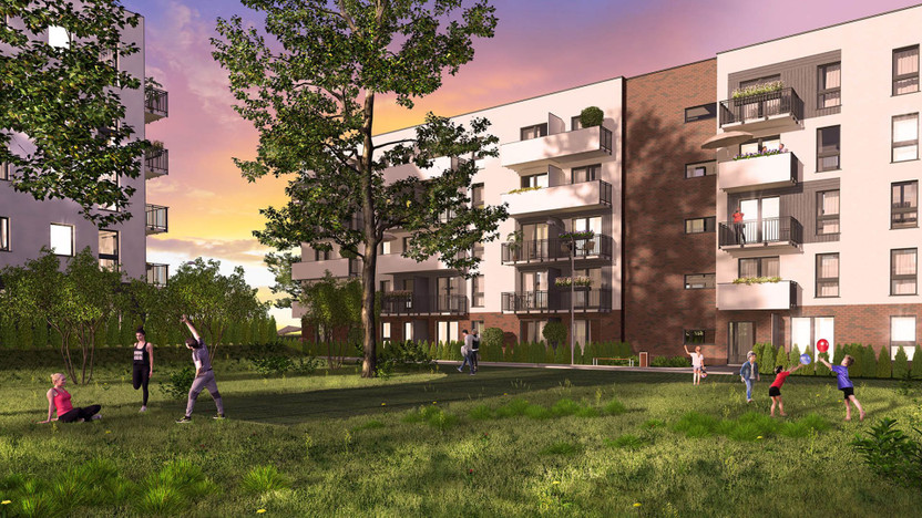 Mieszkanie w inwestycji Murapol Osiedle Akademickie, Bydgoszcz, 64 m² | Morizon.pl | 2178