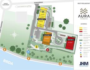Mieszkanie w inwestycji Aura Towers, Bydgoszcz, 29 m²
