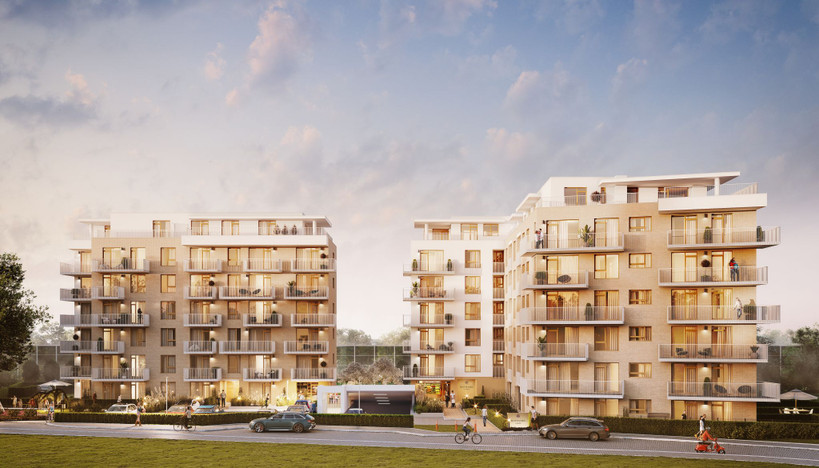 Mieszkanie w inwestycji Safrano, Kraków, 41 m² | Morizon.pl | 8906