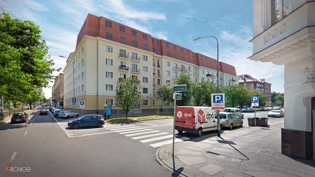Nowa inwestycja - MAZURSKA APARTAMENTY, Szczecin Centrum | Morizon.pl