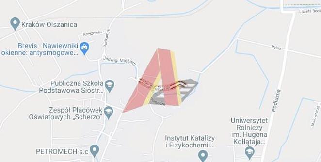 Morizon WP ogłoszenia | Działka na sprzedaż, Kraków Olszanica, 495 m² | 0316