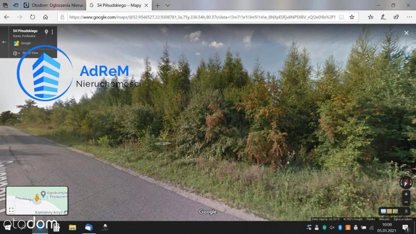 Działka na sprzedaż, Suraż, 1182 m² | Morizon.pl | 7889