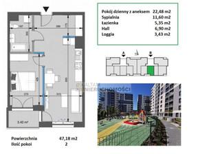 Mieszkanie na sprzedaż, Kraków Mistrzejowice, 47 m²