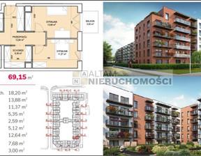 Mieszkanie na sprzedaż, Kraków Zabłocie, 69 m²
