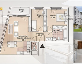 Mieszkanie na sprzedaż, Kraków Podgórze , 69 m²