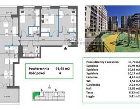 Mieszkanie na sprzedaż, Kraków Mistrzejowice, 91 m²