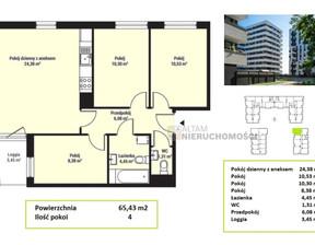 Mieszkanie na sprzedaż, Kraków Mistrzejowice, 65 m²