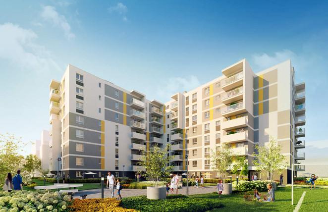 Morizon WP ogłoszenia | Mieszkanie w inwestycji Ursus, obok PKP Ursus Północy, Warszawa, 64 m² | 6073