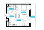 Mieszkanie w inwestycji Wola, ul. Ordona, Warszawa, 46 m² | Morizon.pl | 5790 nr3