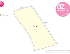 Działka na sprzedaż, Zabrzeż, 7500 m²