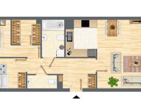 Mieszkanie w inwestycji Słowackiego 77, Gdańsk, 74 m²