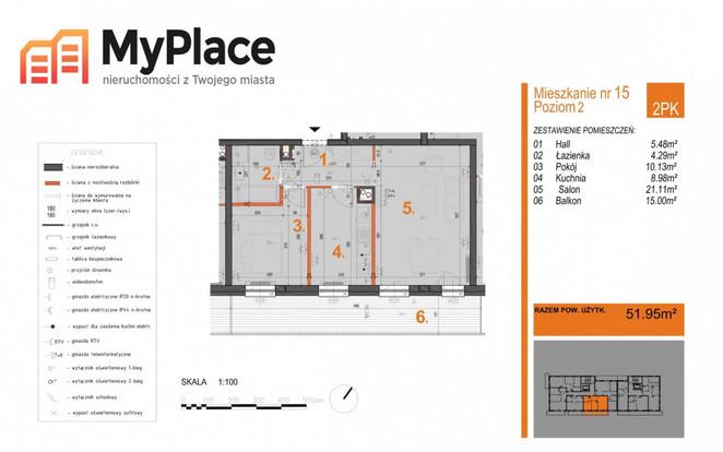 Morizon WP ogłoszenia | Mieszkanie na sprzedaż, Warszawa Białołęka, 52 m² | 1559