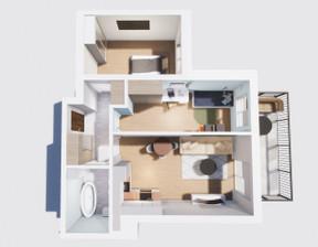 Mieszkanie na sprzedaż, Sosnowiec Klimontowska, 54 m²