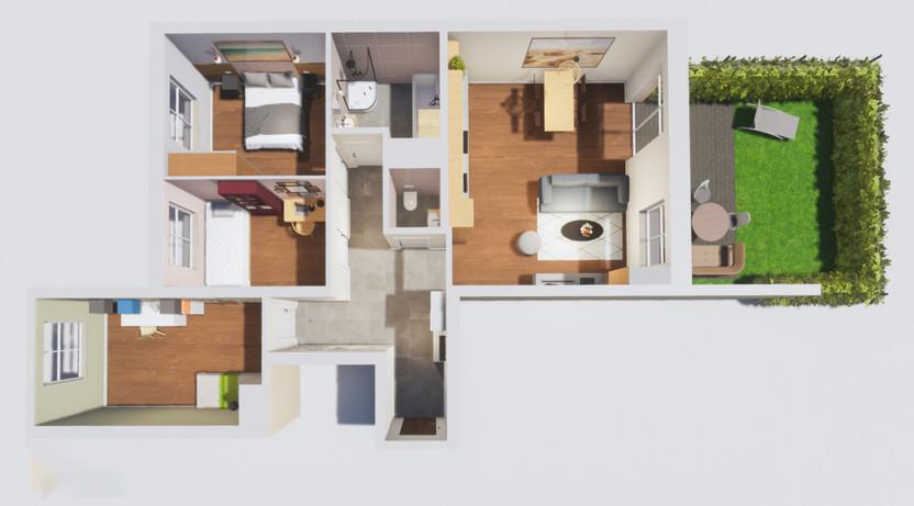 Mieszkanie na sprzedaż, Sosnowiec Sielec, 87 m² | Morizon.pl | 8459