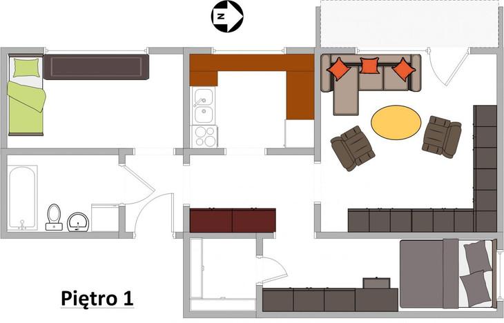 Mieszkanie na sprzedaż, Gliwice Politechnika, 55 m²   Morizon.pl   4579