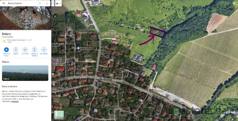 Działka na sprzedaż, Kraków Bielany, 1520 m² | Morizon.pl | 3071