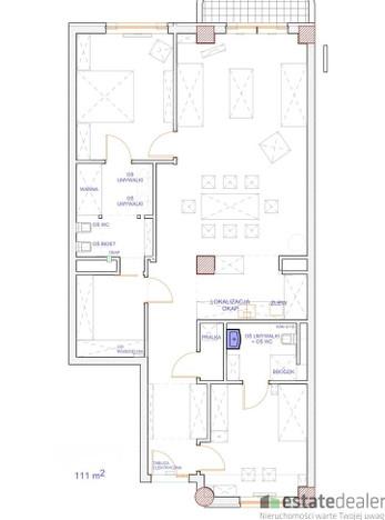Mieszkanie na sprzedaż, Warszawa Mokotów, 111 m² | Morizon.pl | 1157
