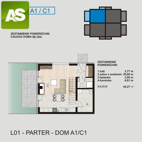 Dom na sprzedaż, Gliwice Stare Gliwice, 89 m² | Morizon.pl | 7898