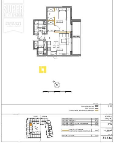 Mieszkanie na sprzedaż, Szczecin Drzetowo-Grabowo, 44 m² | Morizon.pl | 4188
