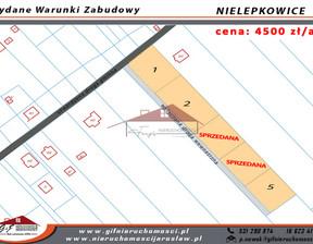 Działka na sprzedaż, Nielepkowice, 1000 m²