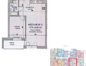 Mieszkanie na sprzedaż, Uniejów Targowa, 46 m²