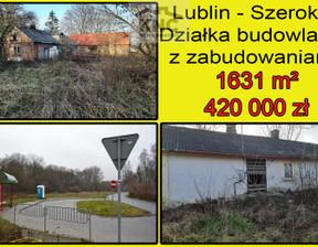 Działka na sprzedaż, Lublin Szerokie, 1631 m²